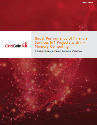 Boost Performance of Financial Services IOT Projects with In-Memory Computing