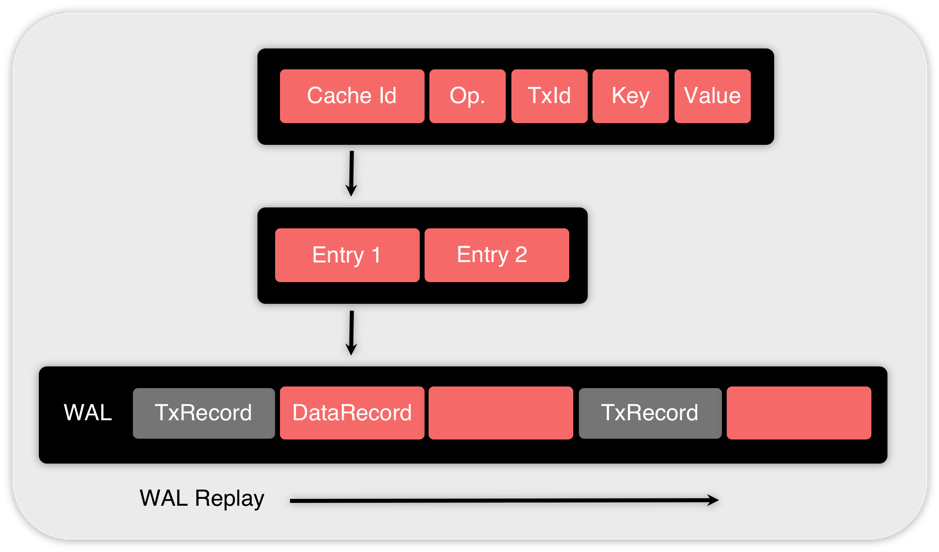 Figure 3. Structure of the DataRecord