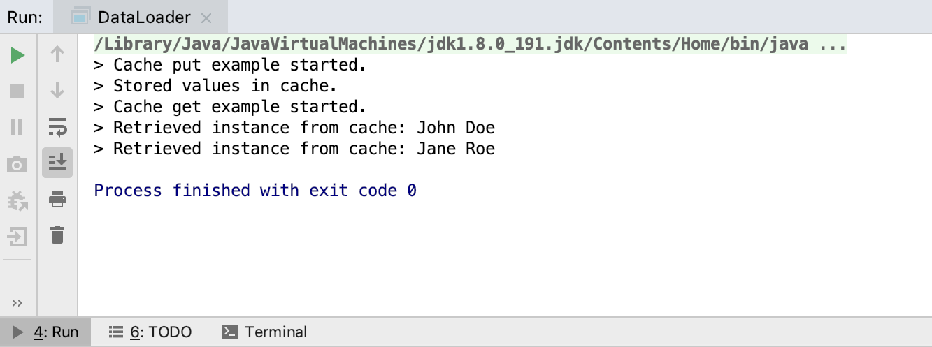 Figure 5. Java Output.