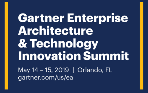 Gartner Enterprise Architecture & Technology Innovation Summit 2019