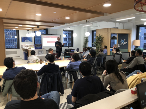 March 28 gathering of the NYC In-Memory Computing Meetup