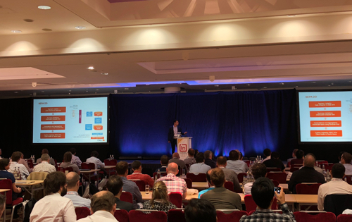 Photo from the In-Memory Computing Summit Europe 2018