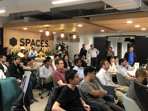 Record attendance at Tuesday's NYC In-Memory Computing Meetup