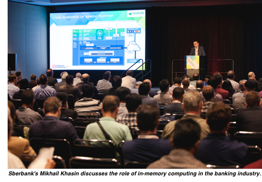 Sberbank's Mikhail Khasin discusses the key role of in-memory computing in the banking industry.