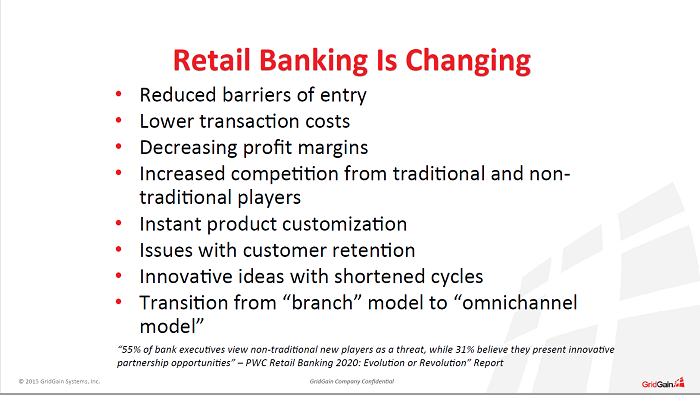 Retail banking benefits from in-memory computing